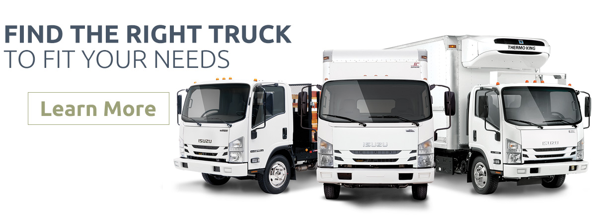 Isuzu Commercial Trucks - Learn More